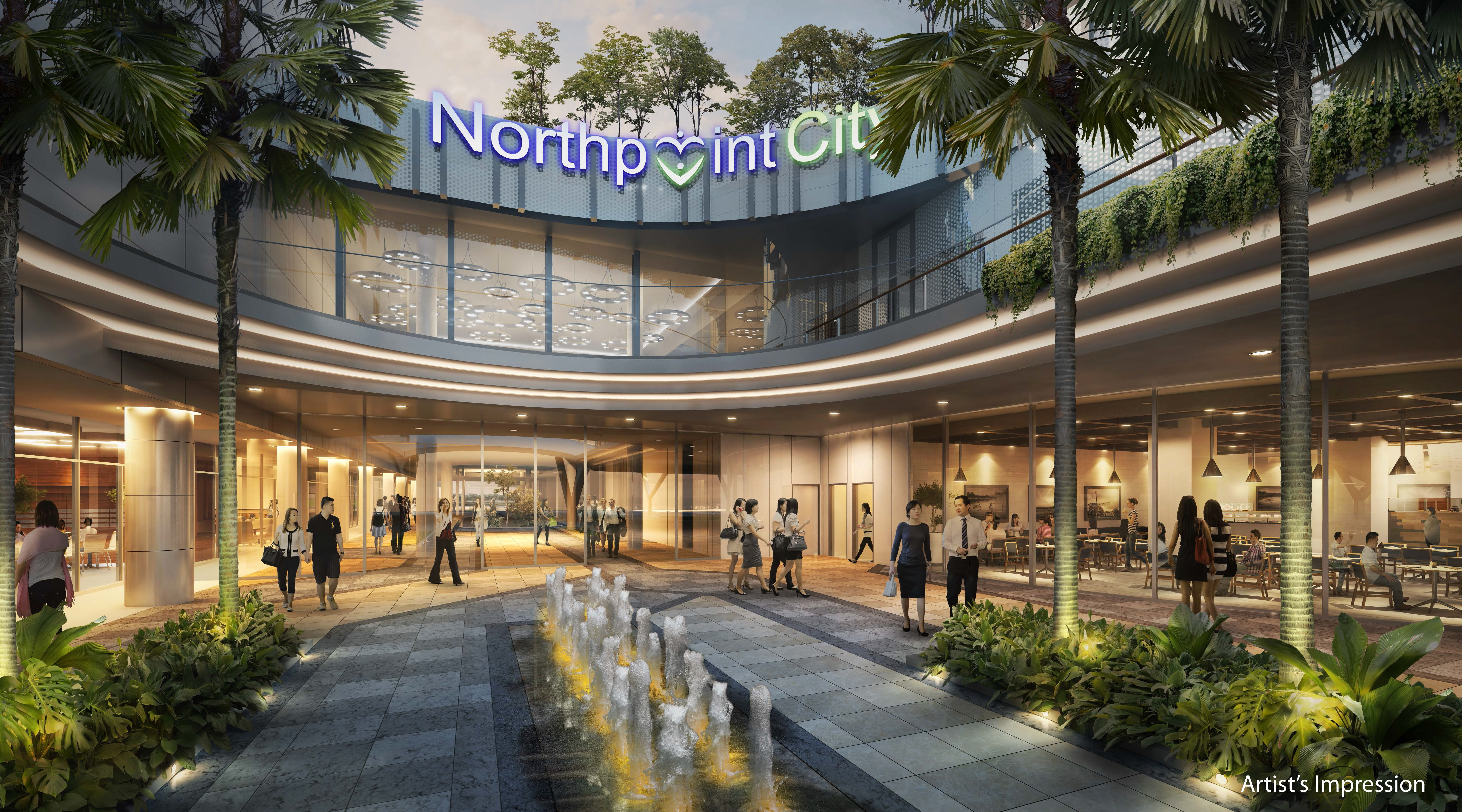 North Park Residences North Point City Shops